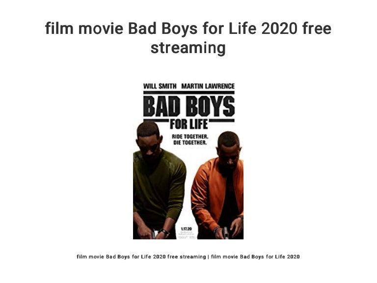 Film Movie Bad Boys For Life 2020 Free Streaming