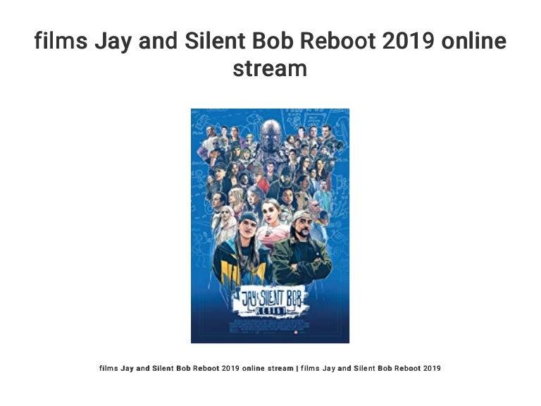 Jay And Silent Bob Stream
