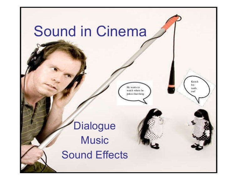 film sound essay The main types of sound that the audience will experience during a film are vocal sounds and dialogue, sounds from the environment and world of the film (also known as diegetic sounds), music, and silence, which is actually the lack of sound yet still adds so much meaning and emotion to an on screen image.