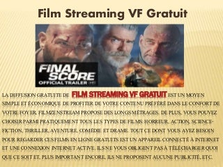 Film streaming vf gratuit