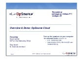 Overview & Demo: OpSource Cloud