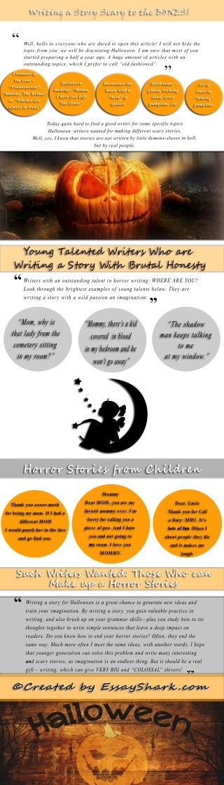 Infographic: Writing a Story Scary to the BONES!