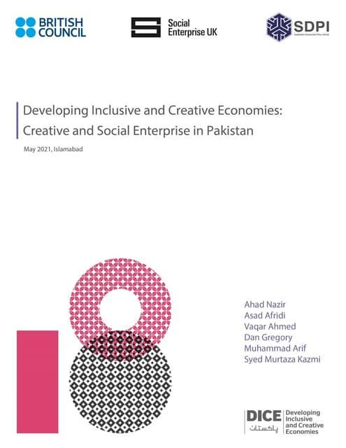 Creative & Social Enterprise in Pakistan