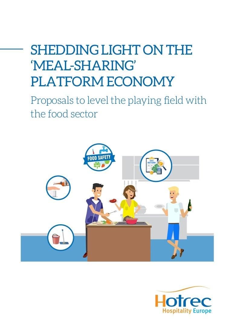 shedding light on the meal sharing platform economy proposals to