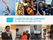 High School Career Development Programs