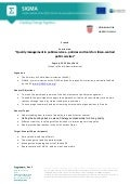 Quality management in public services agenda for workshop 22-23 May 2014, Croatia