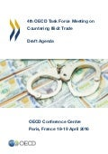 Agenda OECD Task Force on Countering Illicit Trade 2016