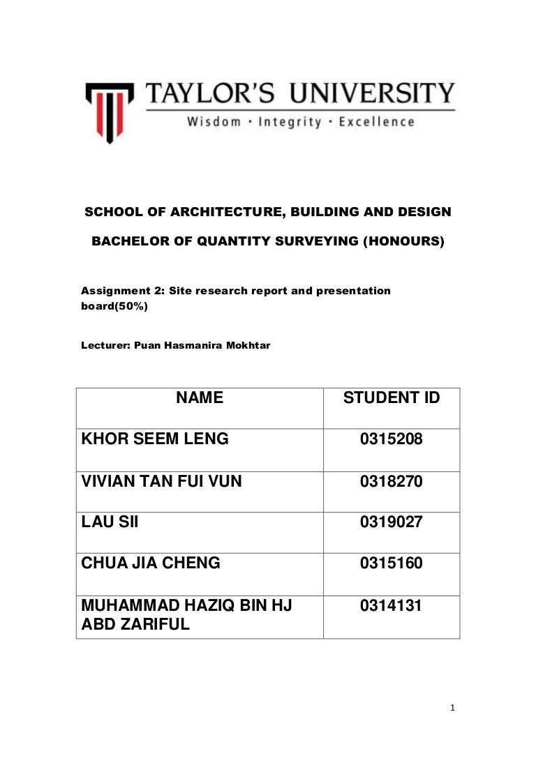 Building Material Assignment 2