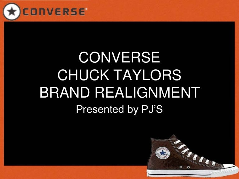 converse shoes mission statement