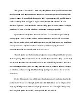 essay about english class