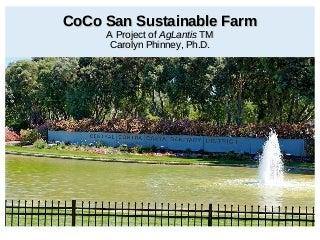 EC2 Co Co San Sustainable Farm presentation July 29 2014