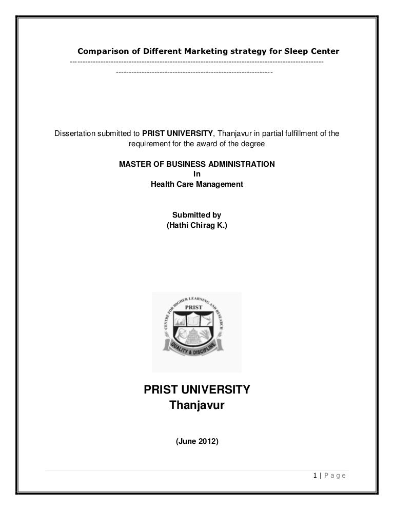 Phd dissertation hrm