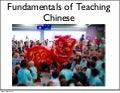 Fundamentals of Teaching Chinese