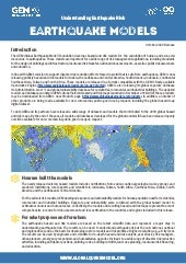 Global Earthquake Model brochure (products released on 12 Oct. 2020)