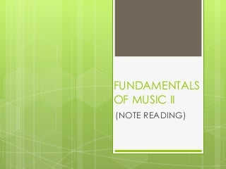 basic note reading lesson plan in MAPEH