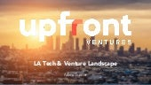 Final LA tech and venture landscape