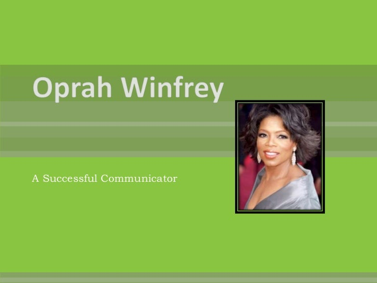 oprah winfrey leadership style term papers In so many ways, the oprah winfrey leadership academy for girls is a miracle of a school founded in 2007 by winfrey to serve the needs of underprivileged girls living in nine provinces across south africa, the boarding school has transformed the lives of hundreds of students in grades 8-12.