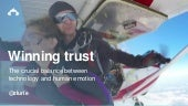 Winning trust: The crucial balance between technology and human emotion