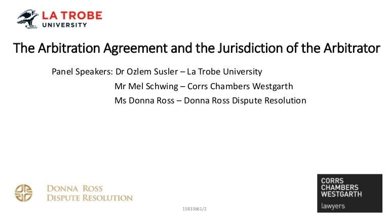 Arbitration Panel Discussion  May