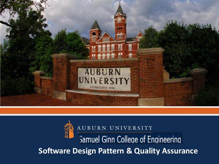 Software Quality Assurance And Design Patterns