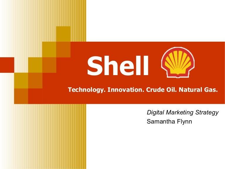 Shell Digital Marketing Strategy