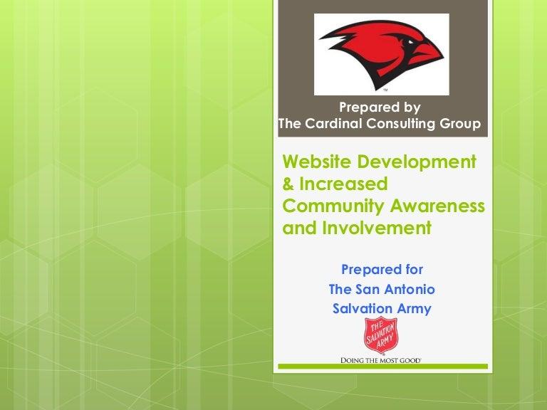 Salvation army website development increased community involvement toneelgroepblik Images