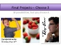 Final projects slideshow