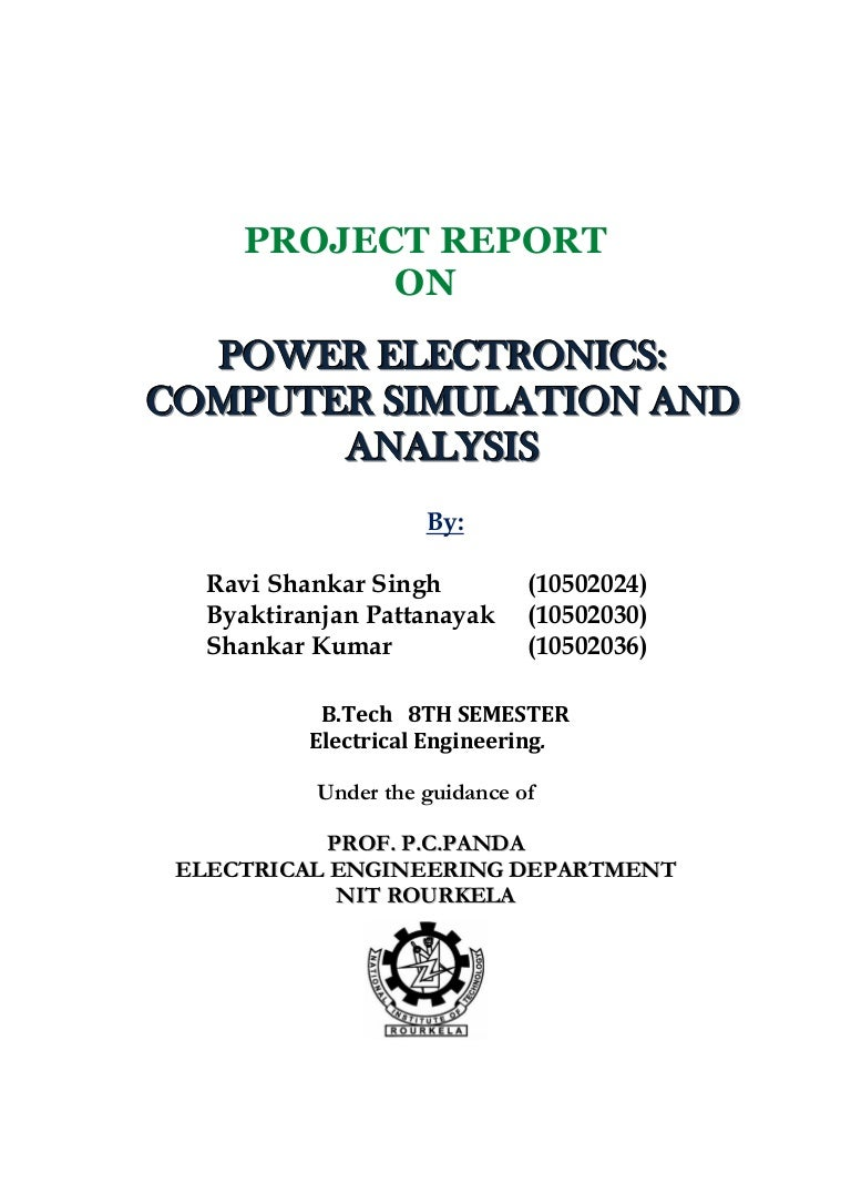 Power Electronic Computer Simulation And Analysis Wave Concepts Limited Circuit Design Software