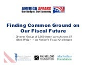 Our Budget, Our Economy Final Report