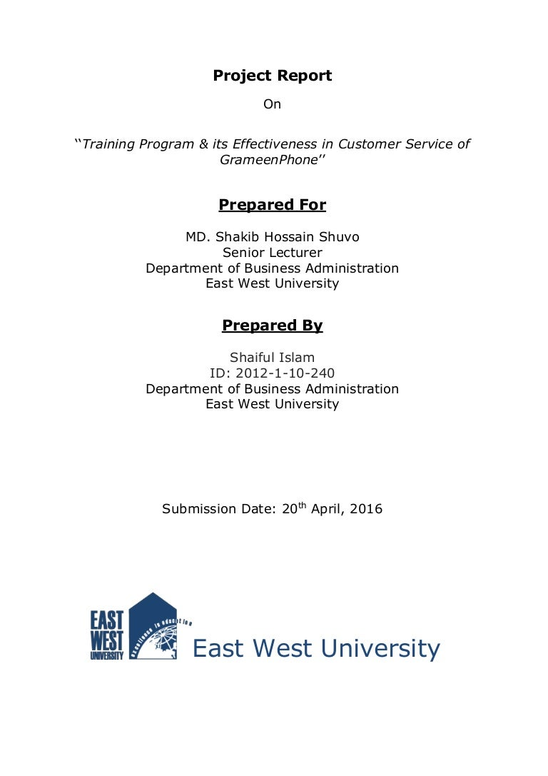 training program  u0026 its effectiveness in customer service