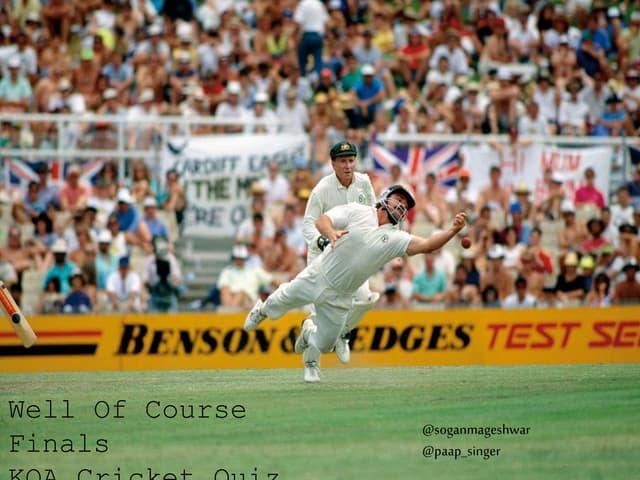 KQA Cricket Quiz 2015 Finals