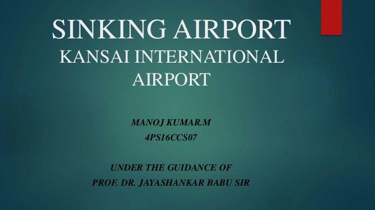 Sinking Airport Kansai International Airport
