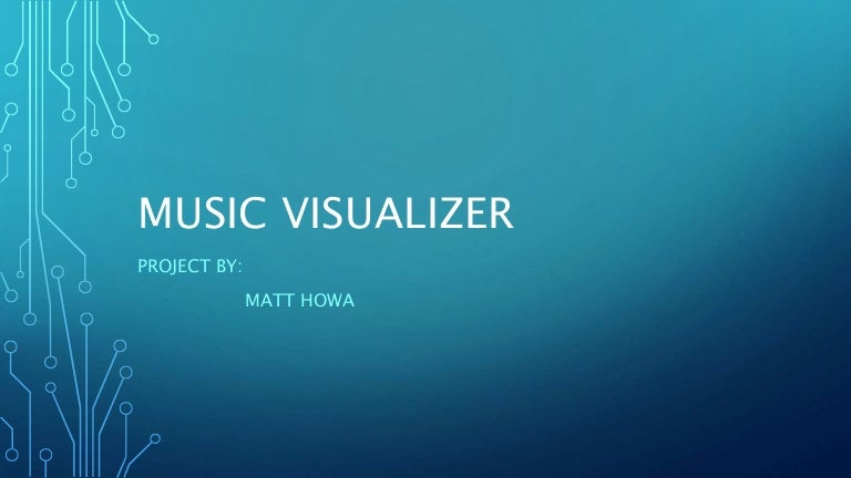 Music Visualizer - Embedded Systems