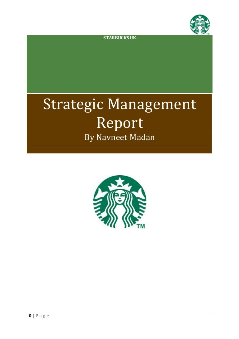 starbucks strategic analysis
