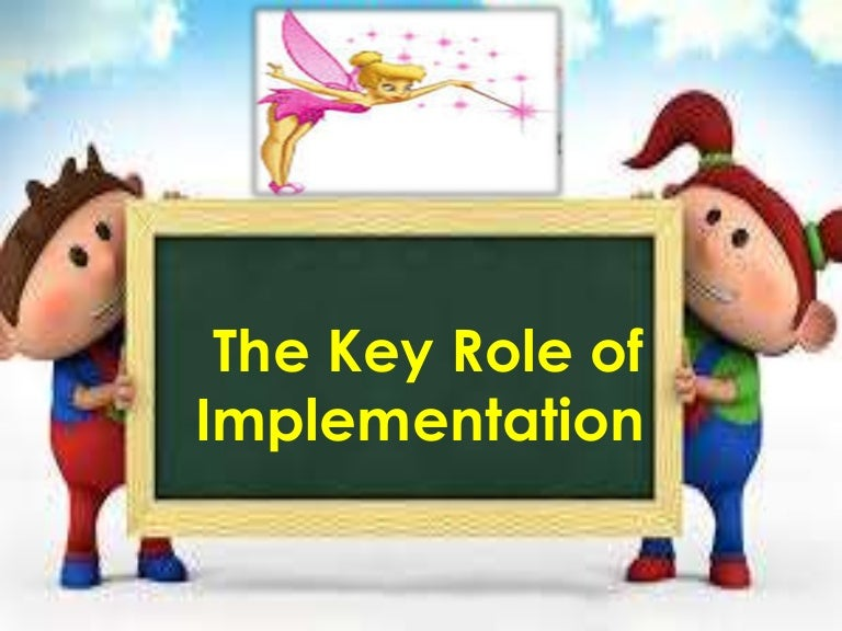 The key role of implementation toneelgroepblik Gallery