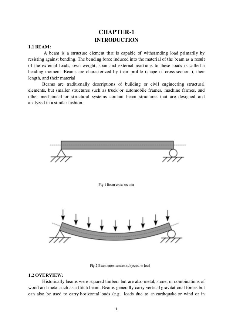 Design And Analysis Of Cantilever Beam