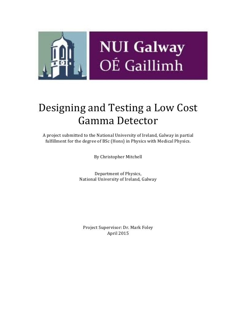 Final year project to design and test a low cost gamma ray detector biocorpaavc Gallery