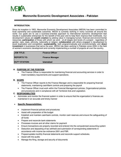 Top 5 finance officer cover letter samples