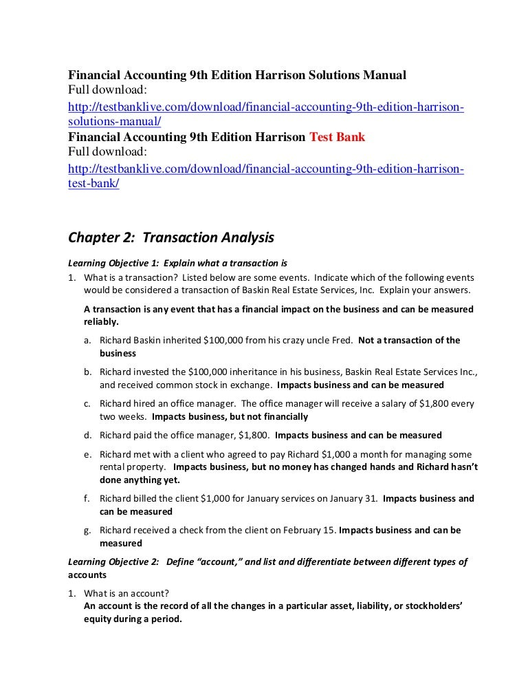 Financial Accounting Harrison Pdf