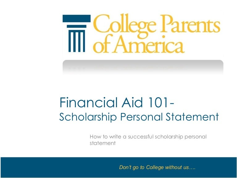 Ways to Write a Financial Aid Statement   wikiHow  financial aid essay slide       jpg cb