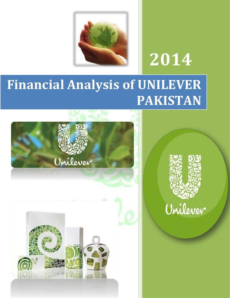 Financial Analysis Of Unilever Pakistan