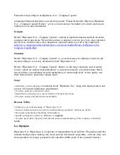 Kuwait United Poultry KSCC - Company Capsule