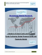 Adoption of Smart Cards and Proximity Cards Furthering Global Financial Cards and Payments Market