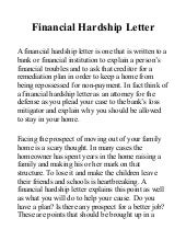 Sample Hardship Letter For Loan Modification Due To Illness from cdn.slidesharecdn.com
