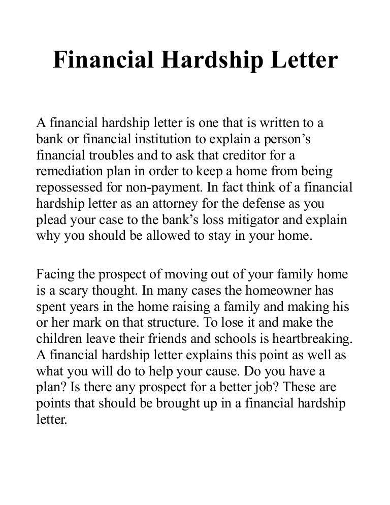 Write A Hardship Letter from cdn.slidesharecdn.com