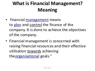 Financial Management | LinkedIn