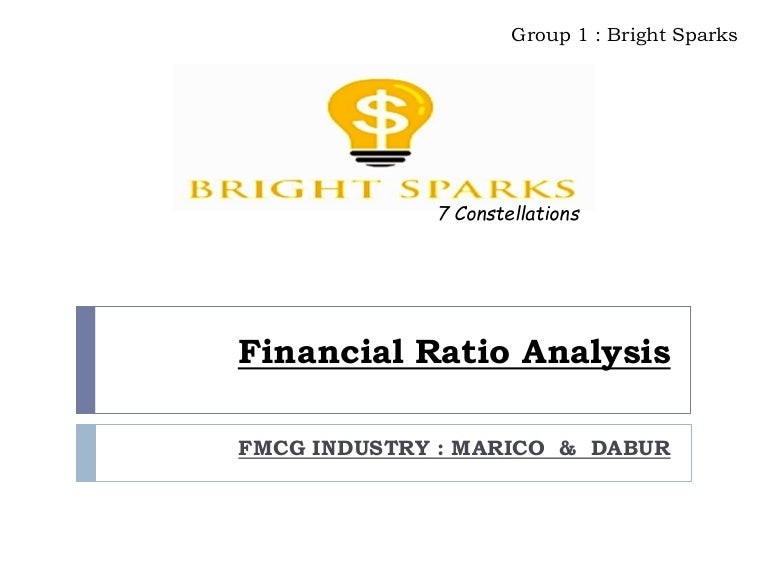 Financial Ratio Analysis Of Marico  Dabur