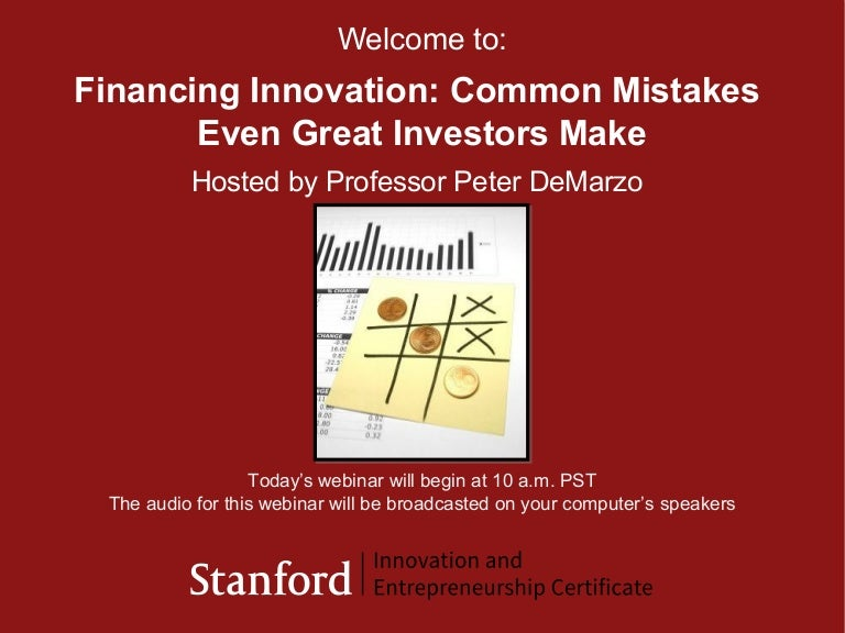 Financing Innovation 2013