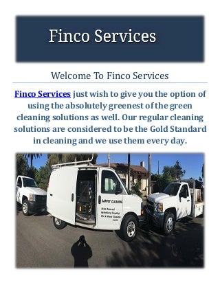 Finco Services Gutter Cleaning Santa Barbara