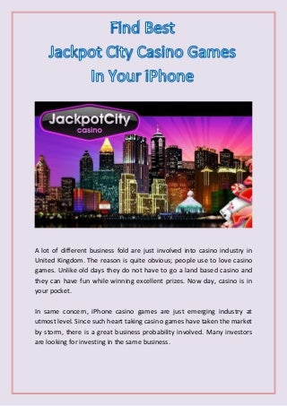 jackpot mobile casino uk